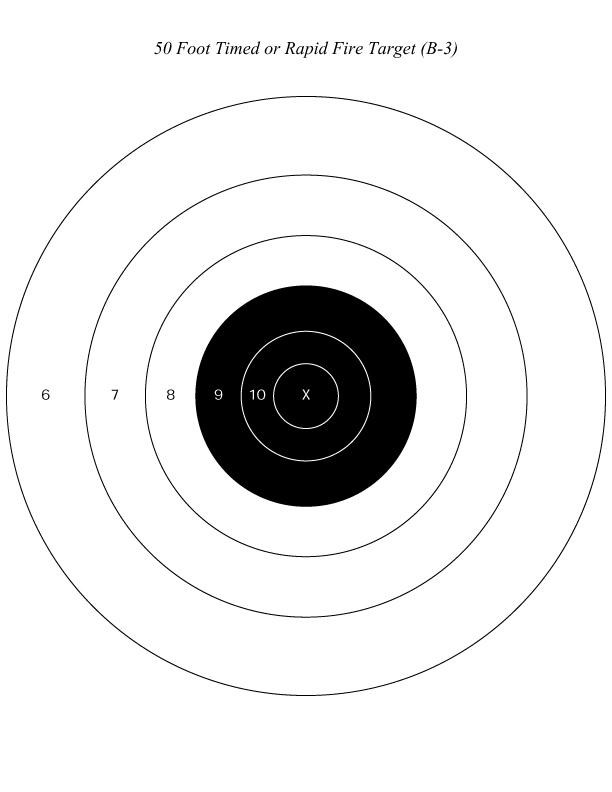Silver City Gun Club Targets